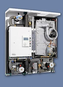 ProCon Streamline gas boiler and air to water heat pump