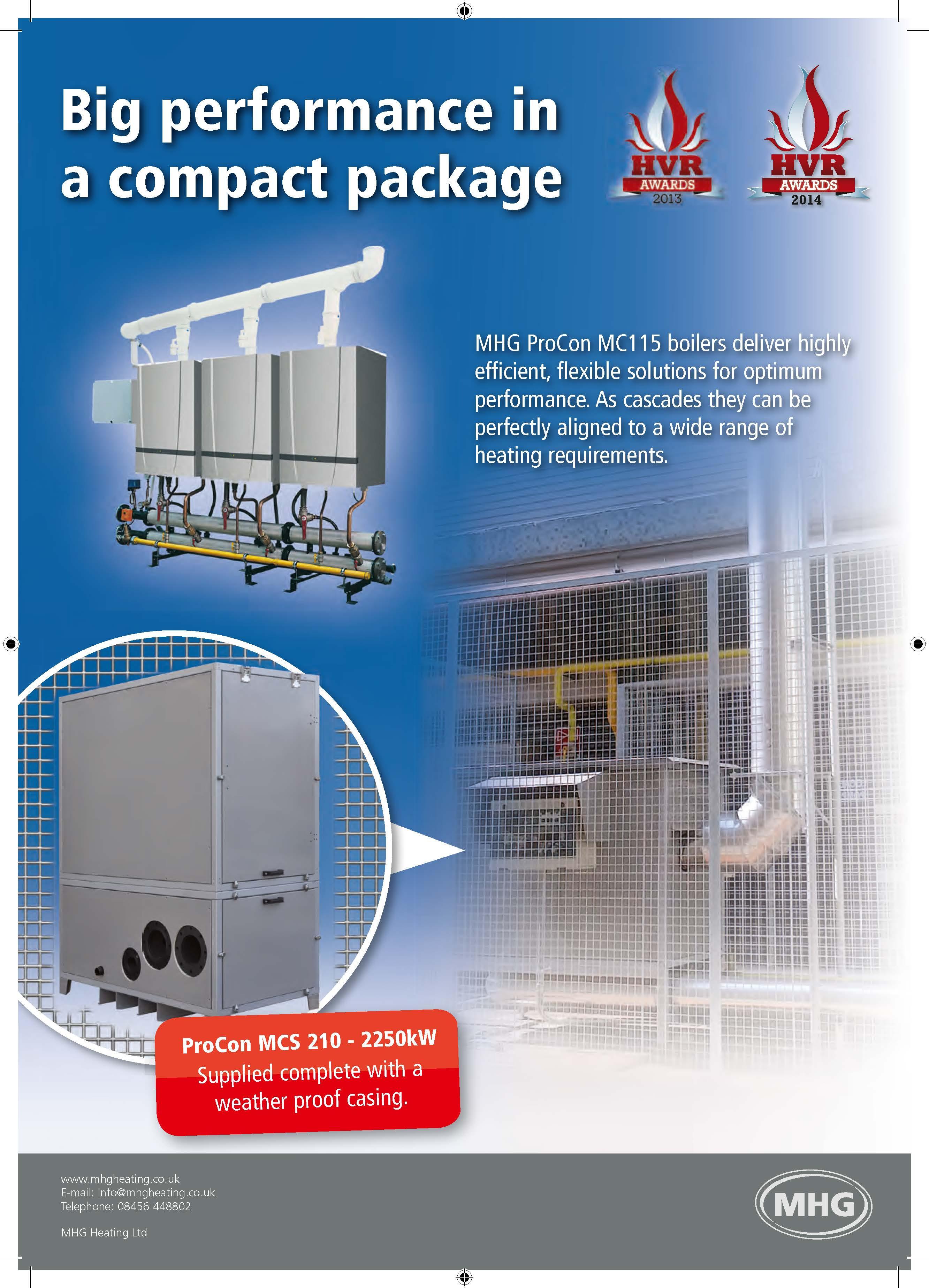 Journal Adverts - MHG Heating