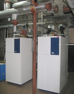 MHG boilers at Victoria