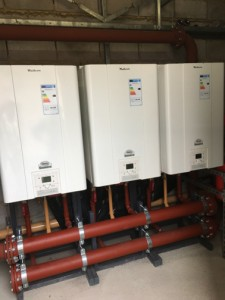 MHG Gassero Wallcon boilers at Bryanston School